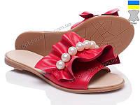 Шлепки женские Prime-Opt Eltenzo 116 красный (36-40) - купить оптом на 7км в одессе