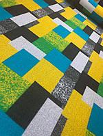 Ткань лоден (валяная шерсть) квадратами