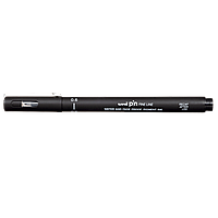 Лайнер uni PiN 0.6мм fine line, черный PIN06-200.Black Uni