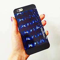 """Пластиковый чехол Motomo iPhone 6/6S, животный принт """"Аллигатор"""""""