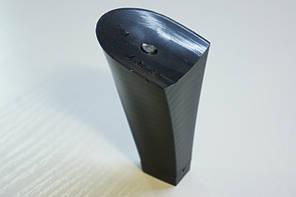 Каблук женский пластиковый 801 р.1-3  h-7,3-7,9 см., фото 2