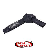 Пояс для кимоно Matsa черный MA-0040-BK (хлопок)