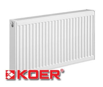Стальной радиатор Koer 300х500 тип 22 (боковое подключение)