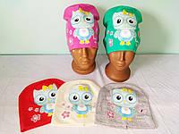 Шапка трикотаж для девочки 1-3 года, фото 1