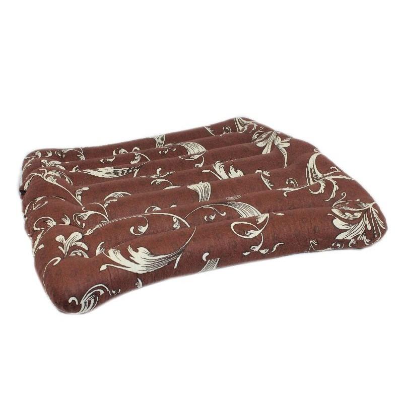 Сидение из гречневой шелухи 45х45 см, ткань Голд х/б
