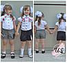 Классические школьные шорты для девочки. 3 расцветки