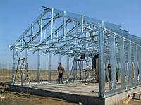 ЛСТК( легкие стальные тонкостенные конструкции) б, фото 1