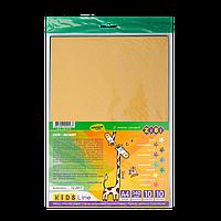 Набор бумаги цветной бархатной, 10 листов: 10 цветов ZB.1913 ZiBi (импорт)