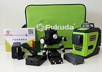 Лазерный уровень №➊ в Украине Fukuda полный комплект, гарантия, ремонт