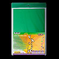 Картон цветной двухсторонний двухцветный, А4, 10листов - 20 цветов ZB.1952 ZiBi (импорт)