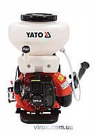 Оприскувач ранцевий YATO з бензин. двигуном 2,13 кВт, 41,5 см³, рідинною ємністю- 16 л YT-85140