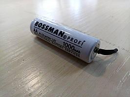 Аккумулятор bossman profi AA 1000mAh 1.2v