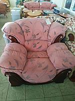 Кресло Диамант лилиум розовый (Ольберг)