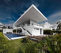Плоский дах приватного будинку \ Плоская кровля частного дома