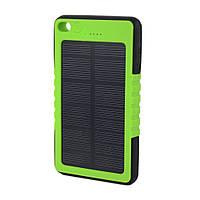 Универсальное солнечное зарядное устройство Power bank ES800 (8000 mAh, солнечная панель (5V/200mA)