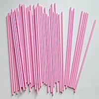 Палочки для кейк-попсов (нежно-розовые), 50 шт.