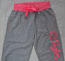 Спортивні штани підліткові для дівчинки сірі (р. 170-176 см) (BQ, Угорщина), фото 2