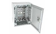 Пластмассовая распределительная коробка на 30 пар, с задвижкой (аналог KRONECTION-Box I, 6436 1 013-20), IP30