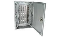 Пластмассовая распределительная коробка на 100 пар, с замком (аналог KRONECTION-Box III, 6437 1 020-21), IP30