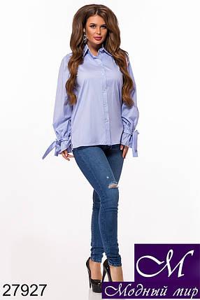 Женская красивая рубашка (р. 42-44, 44-46) арт. 27927, фото 2