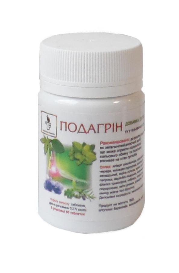 Подагрин профилактика приступов подагры 60 таблеток Тибетская формула