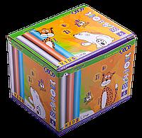 Мел белый+цветной,круглый, 100 шт., карт. коробка, KIDS Line ZB.6718-99, ZiBi