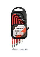 Набор ключей Torx Г-образных YATO Т9-Т30 7 шт YT-0562