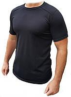Потоотводящая футболкаCoolmax черная