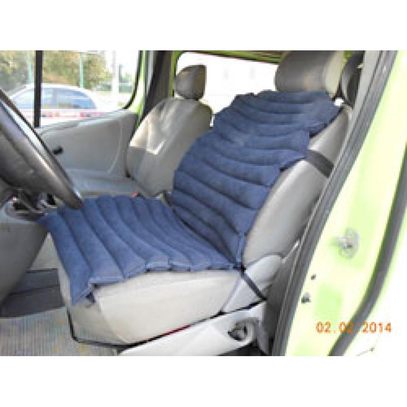 Сиденье-накладка автомобильная 50х115 см  тк. Голд