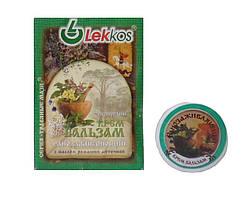 Ранозаживляющий крем-бальзам с маслом ромашки  Вулмедин Леккос 10 г