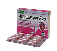 Атероклефит БИО генеральная чистка сосудов 30 капсул Эвалар