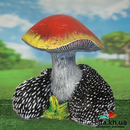 Садова фігура Сім'я їжачків під грибом, фото 2