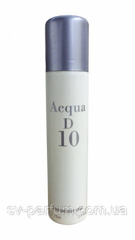 Дезодорант мужской Acqua D 10 75ml