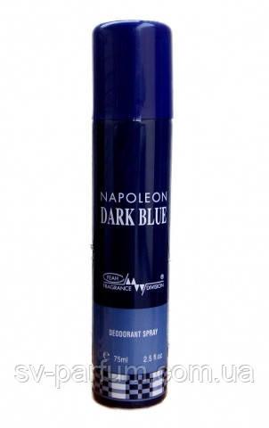 Дезодорант мужской Napoleon Dark Blue 75ml
