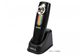 Світильник переносний YATO для підбирання кольорів світлодіодний 5 Вт Li-Ion акумулят. YT-08509