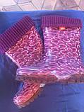 Б/У Детские резиновые сапоги Demar Аметист, 28/29 размер, фото 6