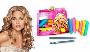Волшебные бигуди для волос Magic Leverag