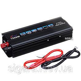 Інвертор TRUMAN 12V 1500W SSK UKC AC/DC black box ZKN