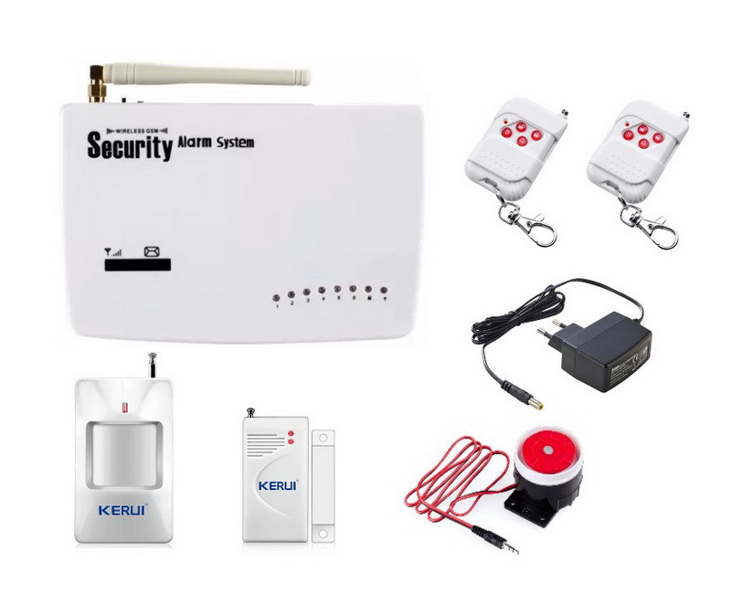 Комплект GSM сигнализации Kerui G10