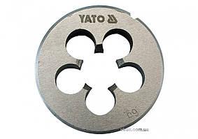 Плашка YATO M6 x 1 мм HSS М2 20 г YT-2963
