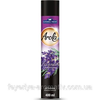 Освежитель воздуха спрей General Fresh Arola Lavender400мл (Польша)