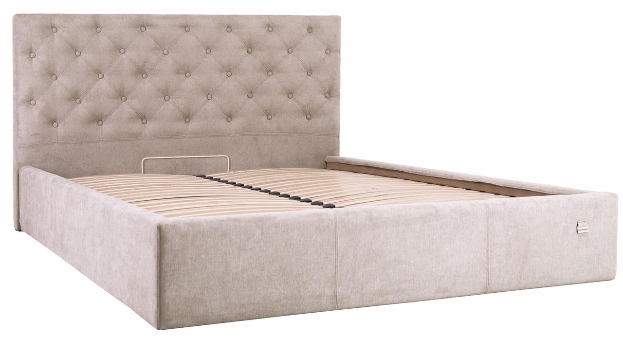 """Двуспальная кровать """"Ковентри"""" с подъемным механизмом (без матраса) ТМ Richman"""