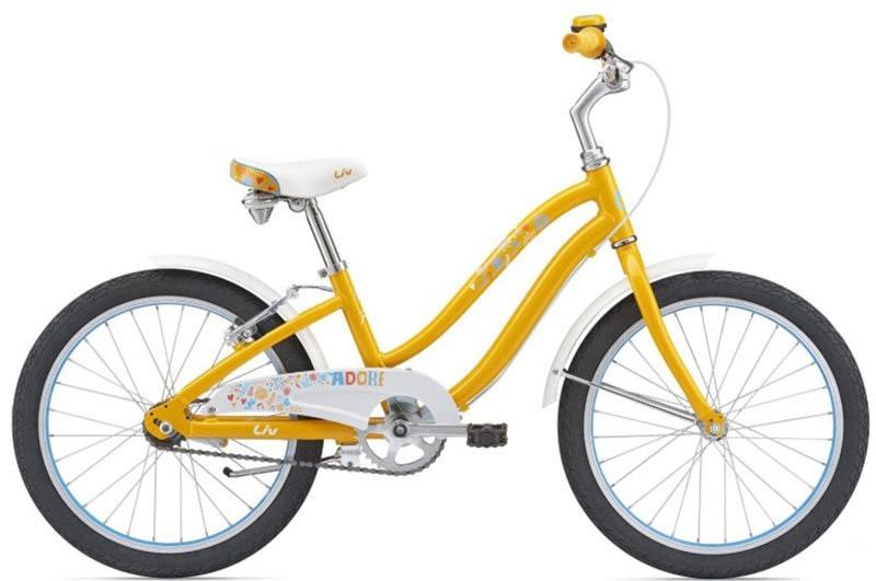"Велосипед Giant Liv Adore 20"" хром. жовтий (GT)"