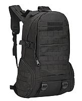 Рюкзак міський,тактичний,штурмової ForTactic на 30-35литров Чорний, фото 1