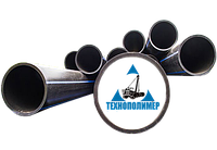 Труба 200 мм полиэтиленовая ПЭ 100 SDR 26 pn 6 ( 6 атм )