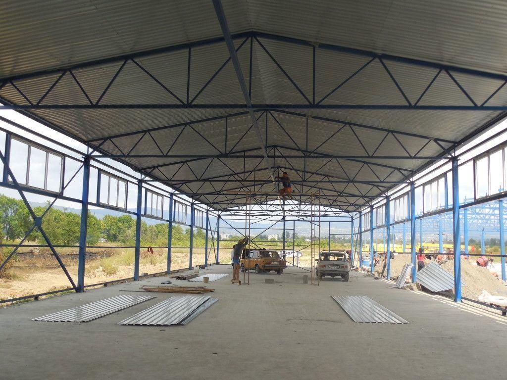 Строительство, реконструкция, ремонт: ангаров.складских помещений.зернохранилищ.+