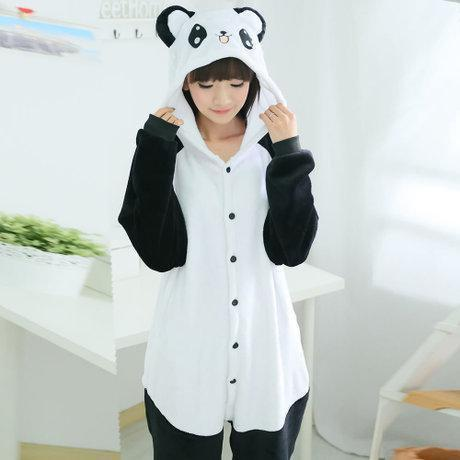 Пижама кигуруми Взрослые и Детские Панда
