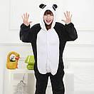 Пижама кигуруми Взрослые и Детские Панда, фото 4