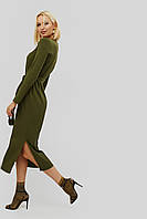 """Платье """"TOVAS"""" оливковый осень"""