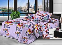 Полуторный комплект постельного белья  Бабочки 668, фото 1